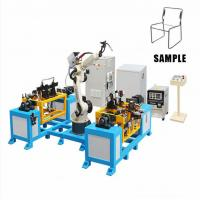 Buy cheap Six Axis Chair TIG MIG Industrial Welding Robots 1400mm Moving Radius 50Hz Frequency product