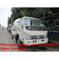 China factory direct sale best price FORLAND 4*2 RHD cement mixer truck, hot sale forland RHD 4m3 concrete mixer drum truck on sale