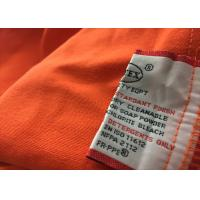 Buy cheap Modacrylic Womens Fire Resistant Clothing Gas Industry Coverall Safety product