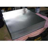 Buy cheap T4 5 . 6 / 2.8 Tin Coated Steel Sheet / Electrolytic Tinplate T1-T5 Food Grade from wholesalers