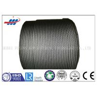 Buy cheap Steel Rotation Resistant Wire Rope For Crane 35Wx7 , DIN / EN Standard product
