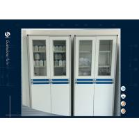 Buy cheap HPL MDF Cleanroom Acid Storage Cabinet , Chemical Storage Shelves 900*425*2000mm from wholesalers