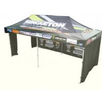 Buy cheap Instant Party / Trade Show / Event aluminium pop up gazebo with 3 walls , Heat Transfer Printing product