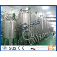 Buy cheap Soft Drink Beverage Industry Carbonated Water Plants , Full Automatic Energy Drink Production Line product