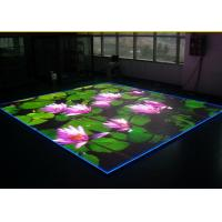 Buy cheap P4 Dance Floor Led Display With Standard Cabinet Size 640 * 640mm product