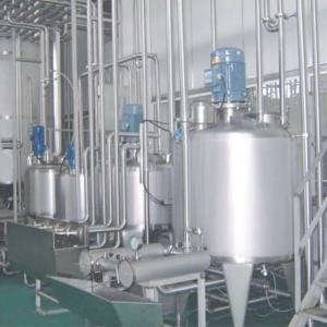 Buy cheap 5000T/H SUS304 Fresh Liquid Pasteurization UHT Milk Production Line product
