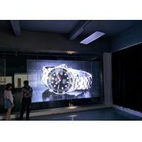 Buy cheap Big Size Transparent Glass LED Display SMD3535 1R1G1B P10 LED Video Wall product