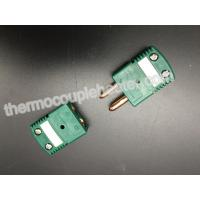 Buy cheap R / S Type Thermocouple Components Flat Pin Standard OMEGA Thermoplastic from wholesalers