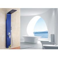 Buy cheap Wall Mounted Thermostatic Shower Panel Column Tower Plastic Shower Head ROVATE product