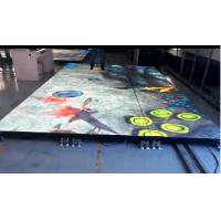 Buy cheap P5 Indoor Led Dance Floor Hire 40000dots/㎡ Resolution SMD 2727 Lamp product