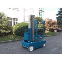 Buy cheap 4- 8 m Self Propelled Electric Cherry Picker Single Mast Aerial Work Platform product