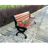 Buy cheap Brown  High Density Wood Plastic Composite Bench 150 * 54 * 73cm Weather Resistant product