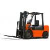 Buy cheap Adjustable Seat 4.5 Triple Mast Forklift , Warehouse Forklift Trucks 1 Year Warranty product