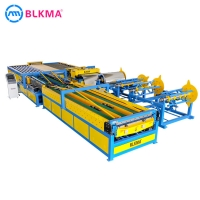 Buy cheap stainless steel Hvac Duct Fabrication Manufacture Auto Line 5 Machine product