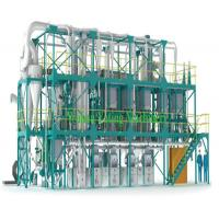 Buy cheap 30-500 TPD Wheat Flour Milling Machine Flour Mill Equipment One Year Warranty product