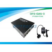 Buy cheap 2 × 1.25G to 2.5G Gigabit Fiber Media Converter , SFP to SFP product