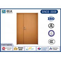 60 Minutes Waterproof Fire Resistant Wooden Doors High Temperature Resistant