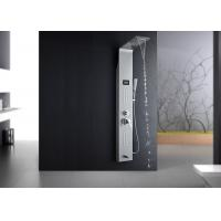 Buy cheap OEM / ODM ROVATE Shower Panel With Waterfall Head Water Temp Accurate To ±1°C product