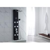 Buy cheap ROVATE Brushed Nickel Shower Panel , Luxury Shower Panel 6 Massage Jets product