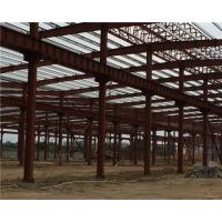 Buy cheap Q235 / Q345 Pipe Truss Large Steel Building Workshop Durable Fabrication Steel Structures product