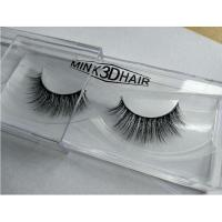 Buy cheap Wholesale private label own brand 3d real Mink Lashes 3D product