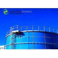 Buy cheap Dark Green Irrigation Water 0.25mm Glass Fused Steel Tanks product