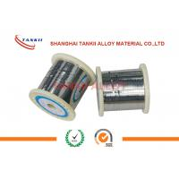 Buy cheap NiCr 80 / 20 Nichrome Ribbon Wire Electric Heating Resistance Bright Surface product