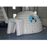 Buy cheap Mini Inflatable Igloo Tent / Blow Up Igloo Tent Playhouse For Rental product