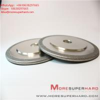 Buy cheap Electroplated diamond CBN grinding wheel can be used for surface grinding, internal grinding Alisa@moresuperhard.com product