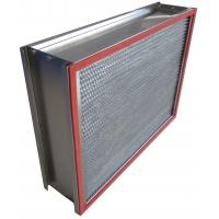 China H13 SUS Frame Deep Pleated High Temp Hepa Filter 0.3um Particulate on sale