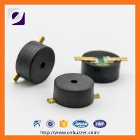 Buy cheap Small 3V SMD Alarm Electro-Magnetic Buzzer For Mobile Phone , Black PPS from wholesalers