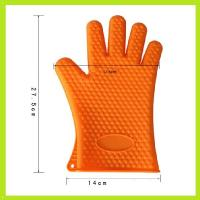 China heat resistant flexible silicone finger glove silicone oven mitts on sale