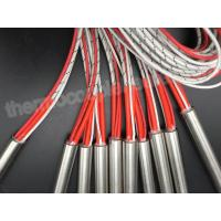 Buy cheap Diameter 12.70MM Cartridge Heaters With Fiberglass Leads And Thermocouple J product