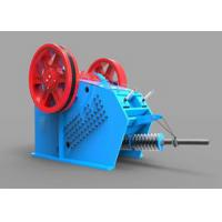 Buy cheap Heavy Duty Toggle Plate Jaw Crusher V Series Gabbros Hydraulic Crushing Machine product