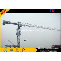Quality 6 tons Mobile Topless Tower Crane Jib Length 56M Power Cable Tip Load 1T for sale