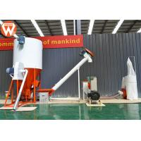 Buy cheap Simple Structure Animal Feed Manufacturing Plant , 500 Kg/H Animal Feed Processing Plant product