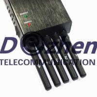 Buy cheap 5 Powerful Antenna Mobile Phone Signal Jammer , All Frequency 3g 4g Signal Jammer product