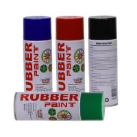 Buy cheap Aerosol Rubber Spray Paint / Plastic Dip Spray Fast Drying Anti -  Corrosion product
