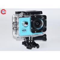 Buy cheap Blue Full HD Sport Camera Waterproof 4k product