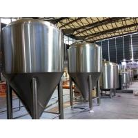 Buy cheap Refrigerated Stainless Steel Conical Fermenter 1000L Large Brewing Equipment product