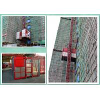 Buy cheap Energy Saving Construction Building Hoist Single Cage / Double Cage product