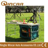 Buy cheap Multi - Function Aluminum Folding Table With Cloth Cabinet Light Bar product