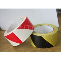 Buy cheap Industrial PVC Marking Tape Yellow Black Self Adhesive Warning Tape product