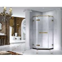 Buy cheap Semi Frameless Rectangle Shower Enclosure With Pivot Door, AB 6231-2 product