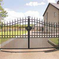 Buy cheap Wrought Iron Automatic Swing Gate for driveways product