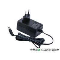 Buy cheap 50hz - 60hz Universal Power Adapter 12V 2A 2000mA Two Round Pin EU Plug 24w Ac Dc product