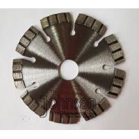 Buy cheap 115mm Laser Diamond Concrete Saw Blades for Fast Cutting Reinforced Concrete product