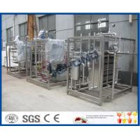 Buy cheap Full Auto / Semi Auto Milk Pasteurization Equipment For Aseptic Filling Production product