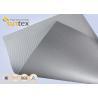 Buy cheap Silver Grey Fiberglass Fire Resistant Welding Blanket Silicon Rubber Colored Fiberglass Cloth product