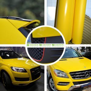 Buy cheap Glossy Car Wrapping Vinyl Films--Glossy Lemon Yellow product